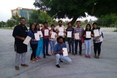 NSS Students Shine in GJU, Hisar