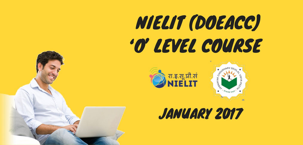 NIELIT-(DOEACC)-'O'-LEVEL-COURSE