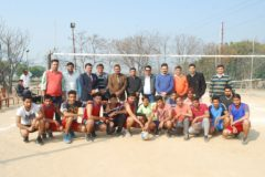 Two days Inter College Volleyball Tournament ends – 11/02/2017