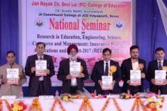 Inaugural Function of  National Seminar – 02/03/2017