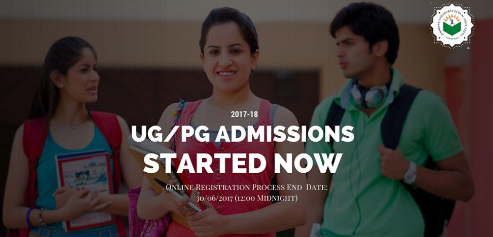 UG/PG Admissions