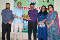 Extension Lecture held in JCDM College of Pharmacy on the occasion of World Pharmacist Day – 29/09/2018