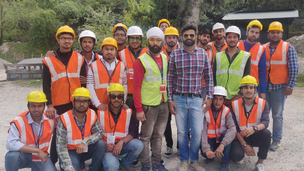 Industrial Visit jcdm engineering college