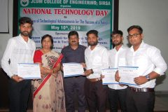 Celebrate National Technology Day – JCDM College of Engineering, Sirsa = 10/05/2019