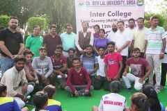 Cross Country Tournament organized by CDLU – JCD Memorial College, Sirsa – 12/09/2019