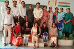 Various Competitions held on the eve of Deepawali – JCD PG College of Education, Sirsa – 25/10/2019