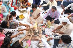 New Session started by Hawan Ceremony – JCD College of Education, Sirsa – 04/10/2019