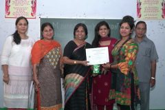 Mehandi Competition on Karwa Choth eve – JCD PG College of Education, Sirsa – 16/10/2019