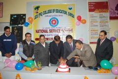 NSS inauguration in village Panihari – JCD PG College of Education,Sirsa – 25/12/2019