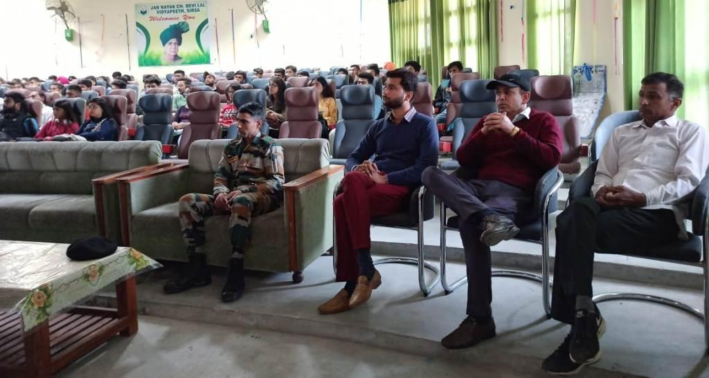 Motivational Lecture by Indian Army persons (4)
