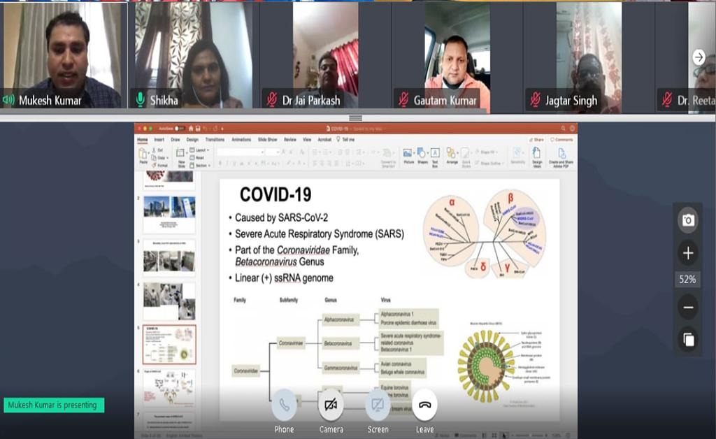 international webinar on covid-19