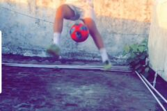 International level football juggling competition