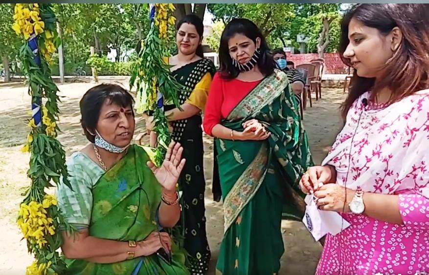 Haryali Teej Celebration jcdv