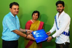 Online Farewell Party organized by JCD Memorial College