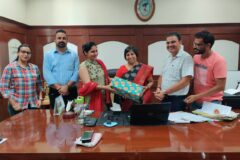 Online Farewell Party Organized by Arts and BMC Department