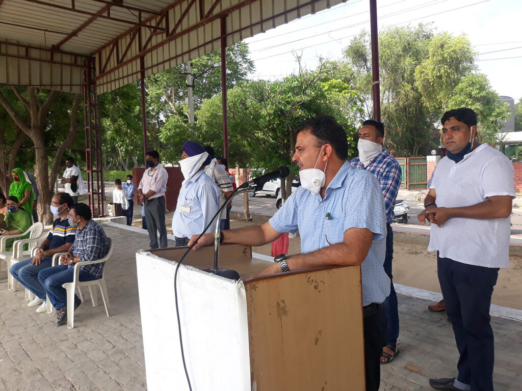 dr jaiparkash independence day speech