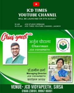 JCD Times YouTube Chanel