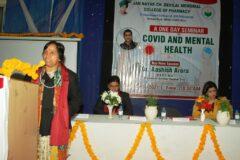 One Day Seminar on Covid-19 – JCDM College of Pharmacy -07/01/2021